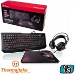 COMBO GAMER THERMALTAKE KNUCKER 4 IN 1 KIT   KEYBOARD, HEADSET, MOUSE AND MOUSEPAD