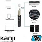 ADAPTADOR BLUETOOTH KANJI AUDIO BATERIA KJ-AC03