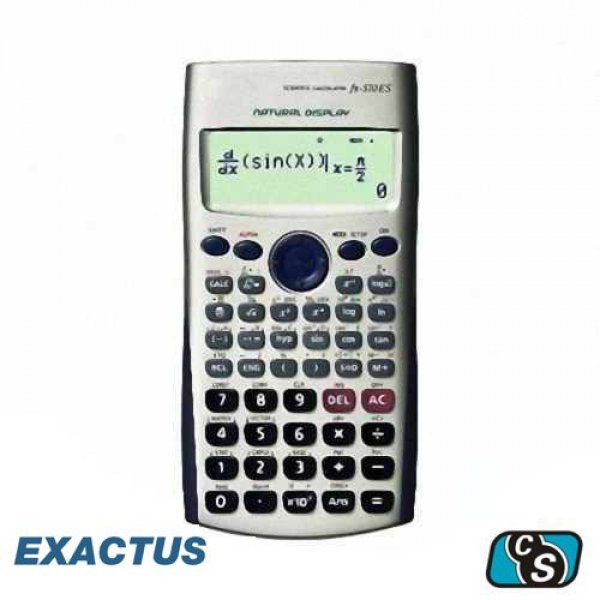 CALCULADORA  CIENTIFICA EXAKTUS EX-570ES PLUS BIG DISPLAY 417 FUNCIONES